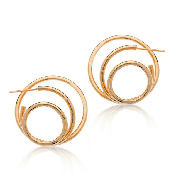 TERRY GOLD EARRINGS