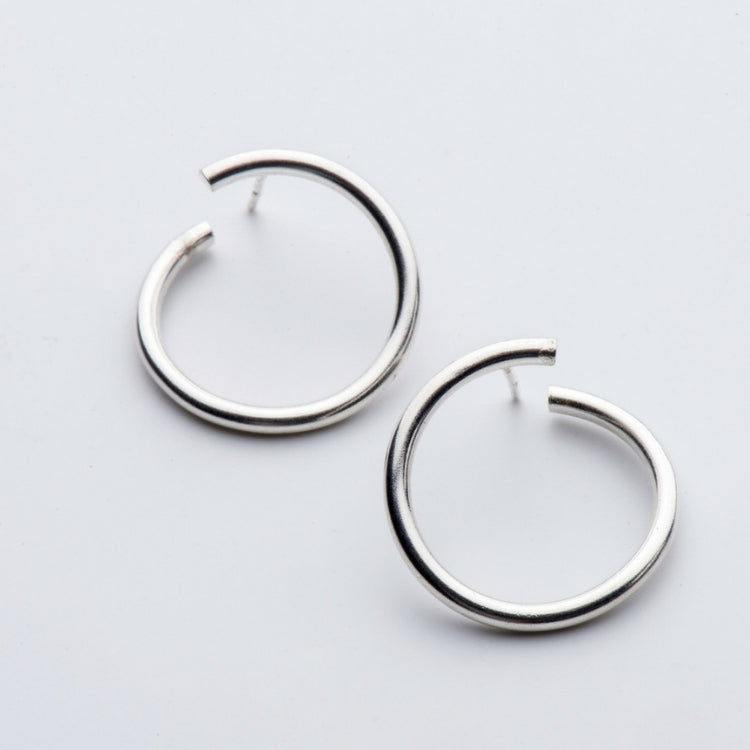 JIMI SILVER EARRINGS - Bonanza Studio