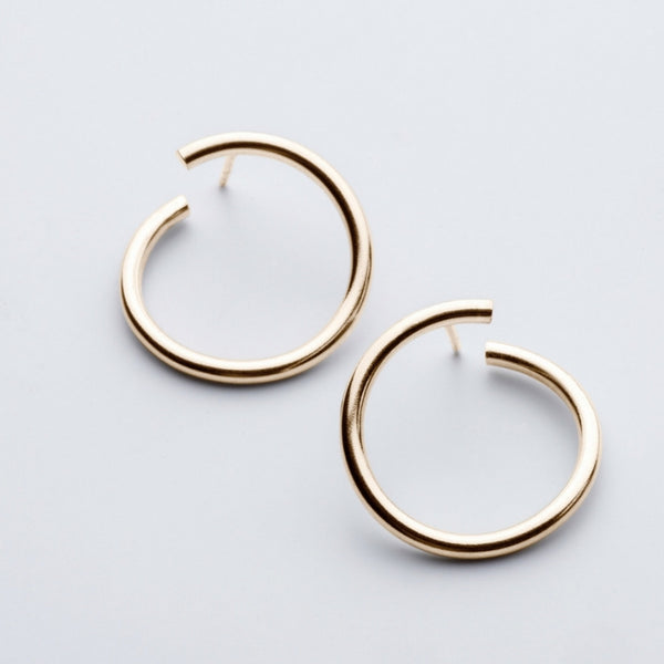 JIMI GOLD EARRINGS - Bonanza Studio
