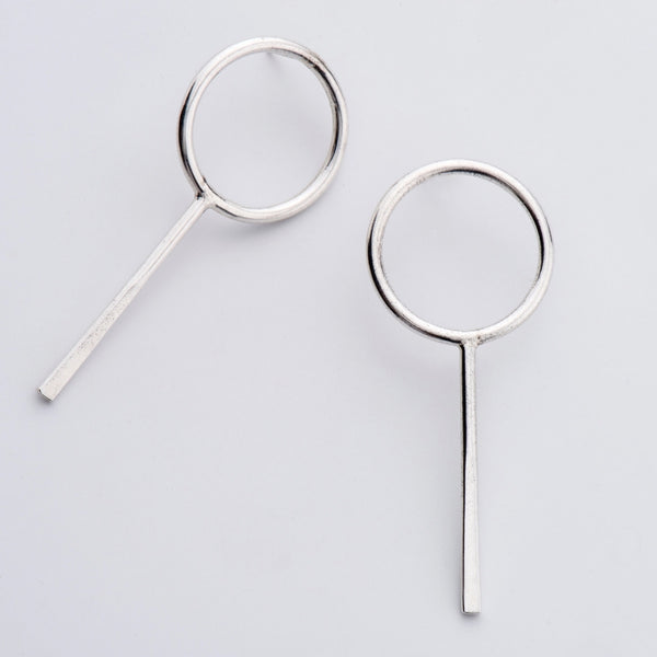 JIM SILVER EARRINGS - Bonanza Studio
