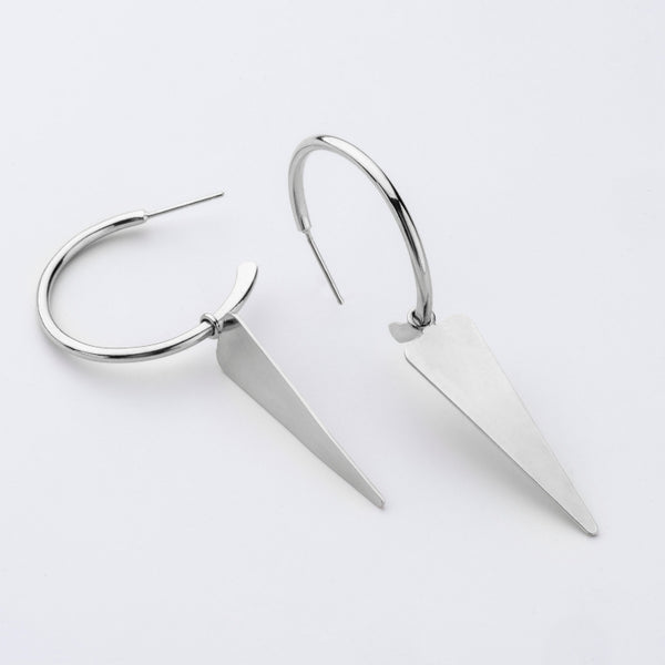 Klif - Silver Earrings