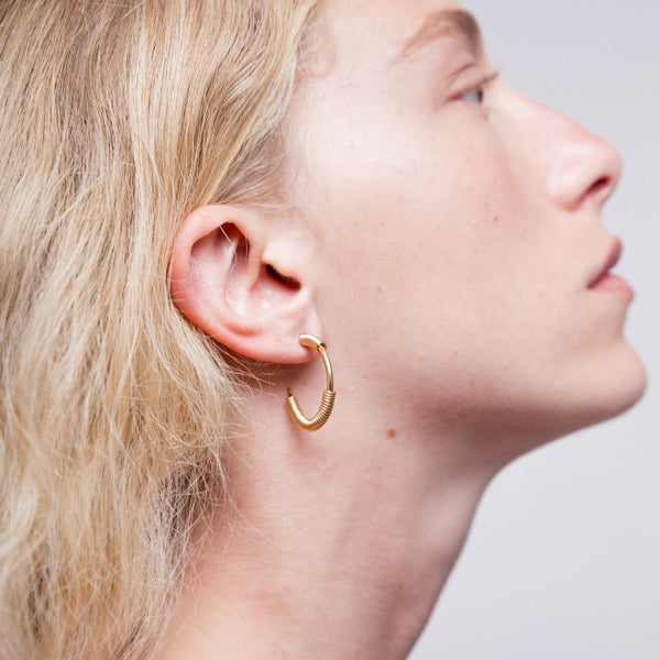 ALEX GOLD EARRINGS - Bonanza Studio