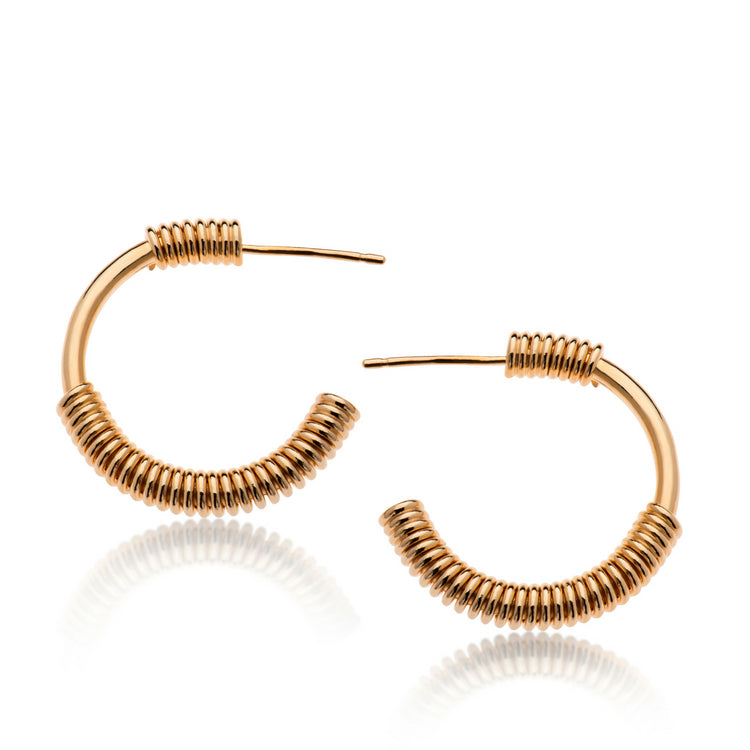 ANDY GOLD EARRINGS - Bonanza Studio