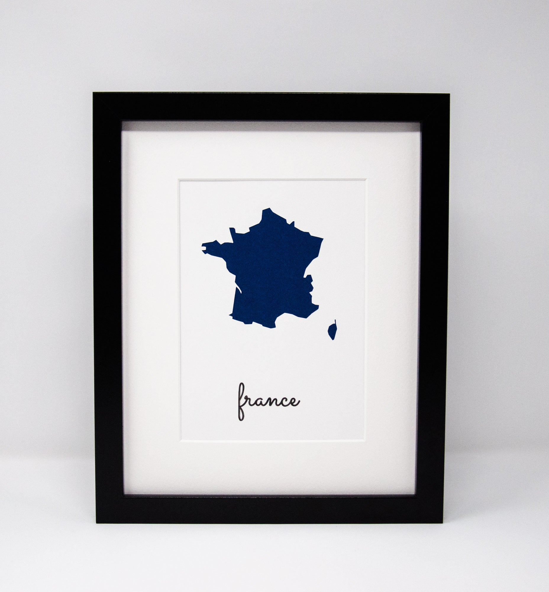 France | Wall Art | Custom Maps | Unique Gifts | Canada