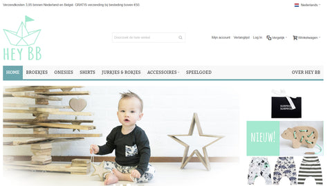Oude webshop Hey BB