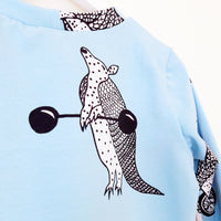 Shirt 'Lifting Armadillo' - HEY BB