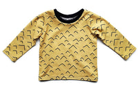 Shirt 'Gold Mountains' - HEY BB