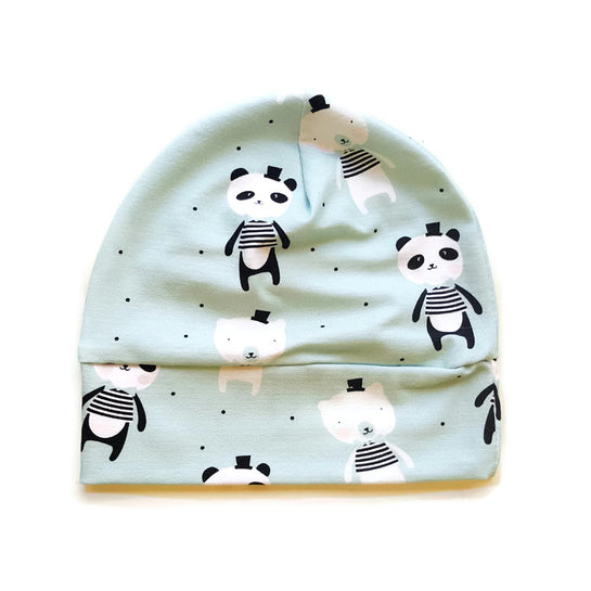 Beanie mutsje 'Happy Bears' - HEY BB