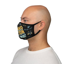 Load image into Gallery viewer, Fitted Polyester Twinno Face Mask