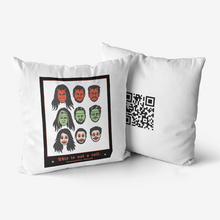 Load image into Gallery viewer, Hypoallergenic HallowMAYne Throw Pillow