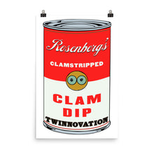 Load image into Gallery viewer, Rosenberg's Clam Dip Poster