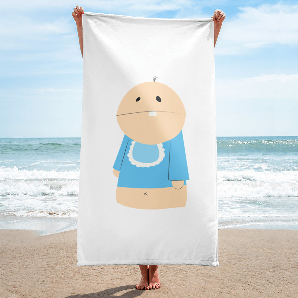 Single Almond Baby Davey Towel