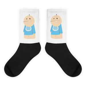 Single Almond - Baby Davey Socks