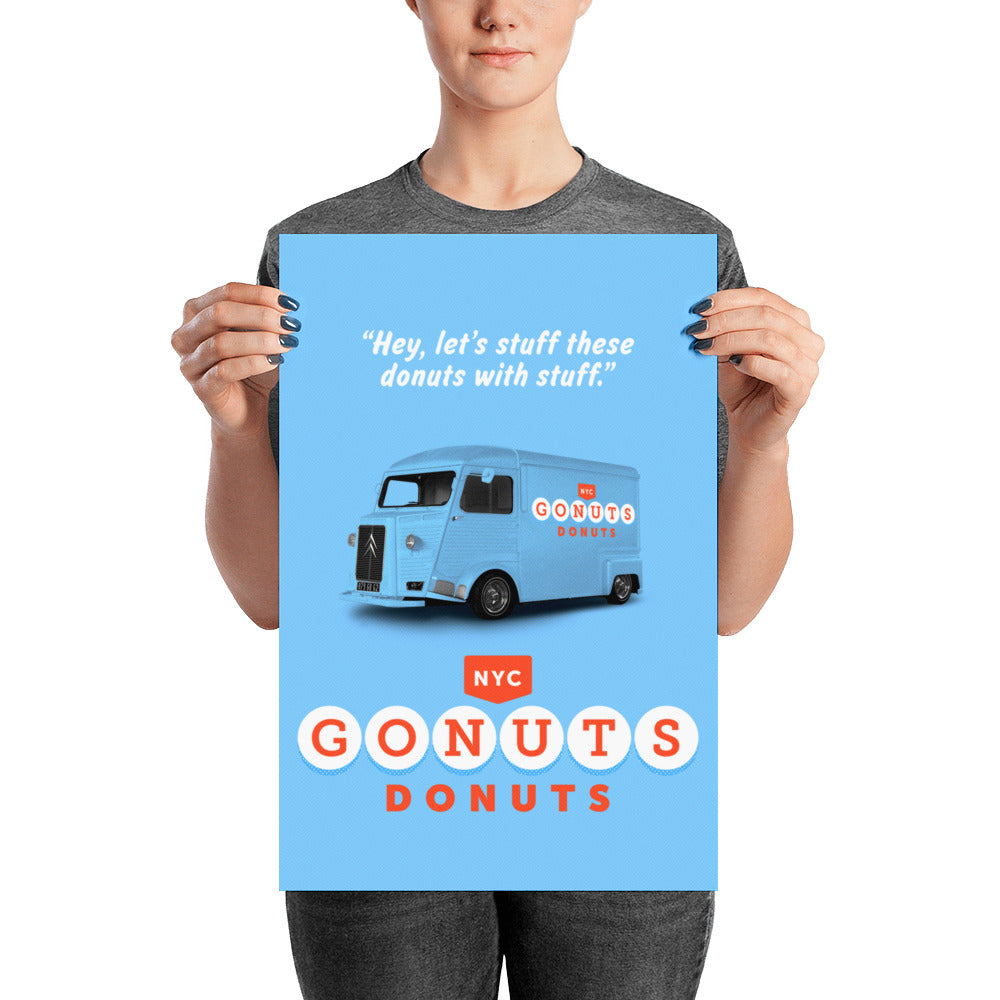 GONUTS 🍩 DONUTS Posters