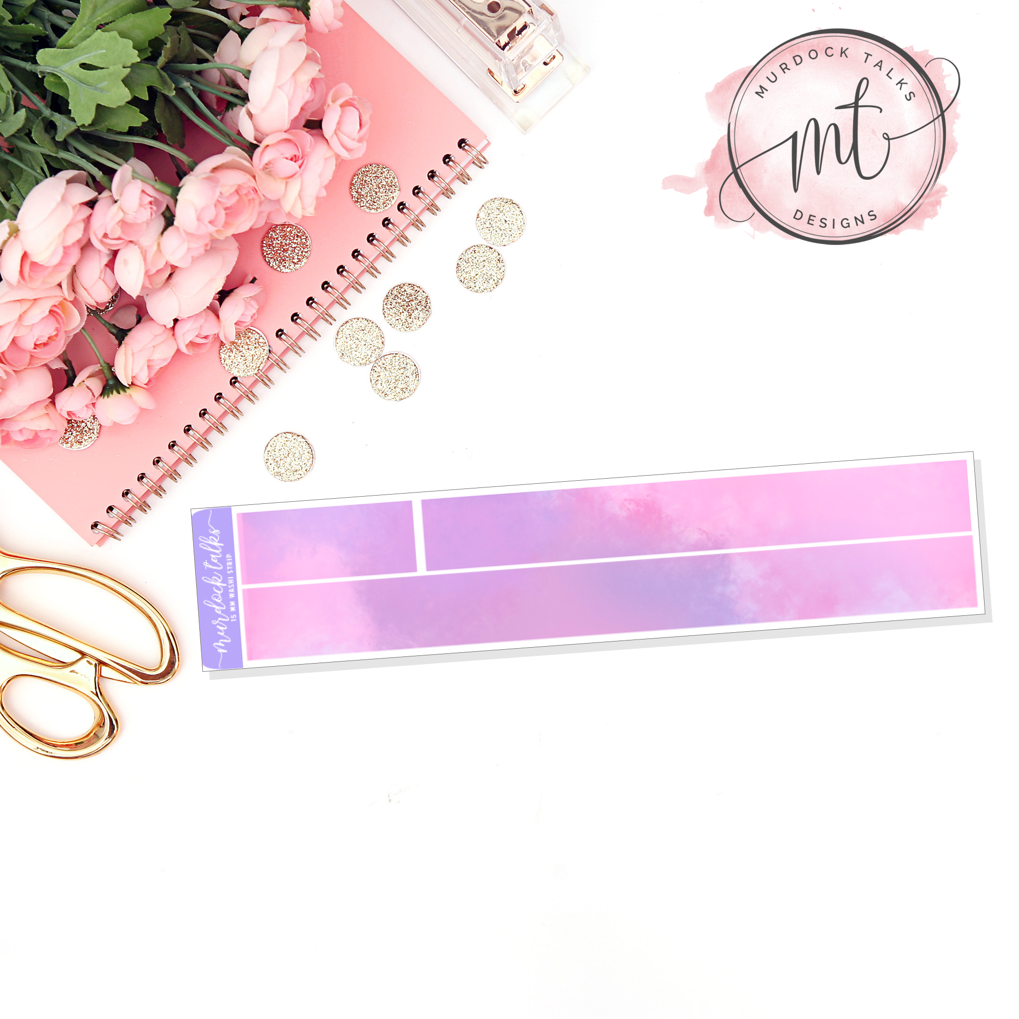 Mother's Day 15mm Washi Strip