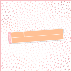 Thankful 15mm Washi Strip