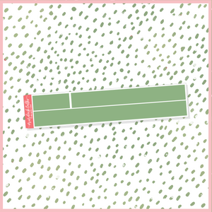 Crafty Christmas 15mm Washi Strip