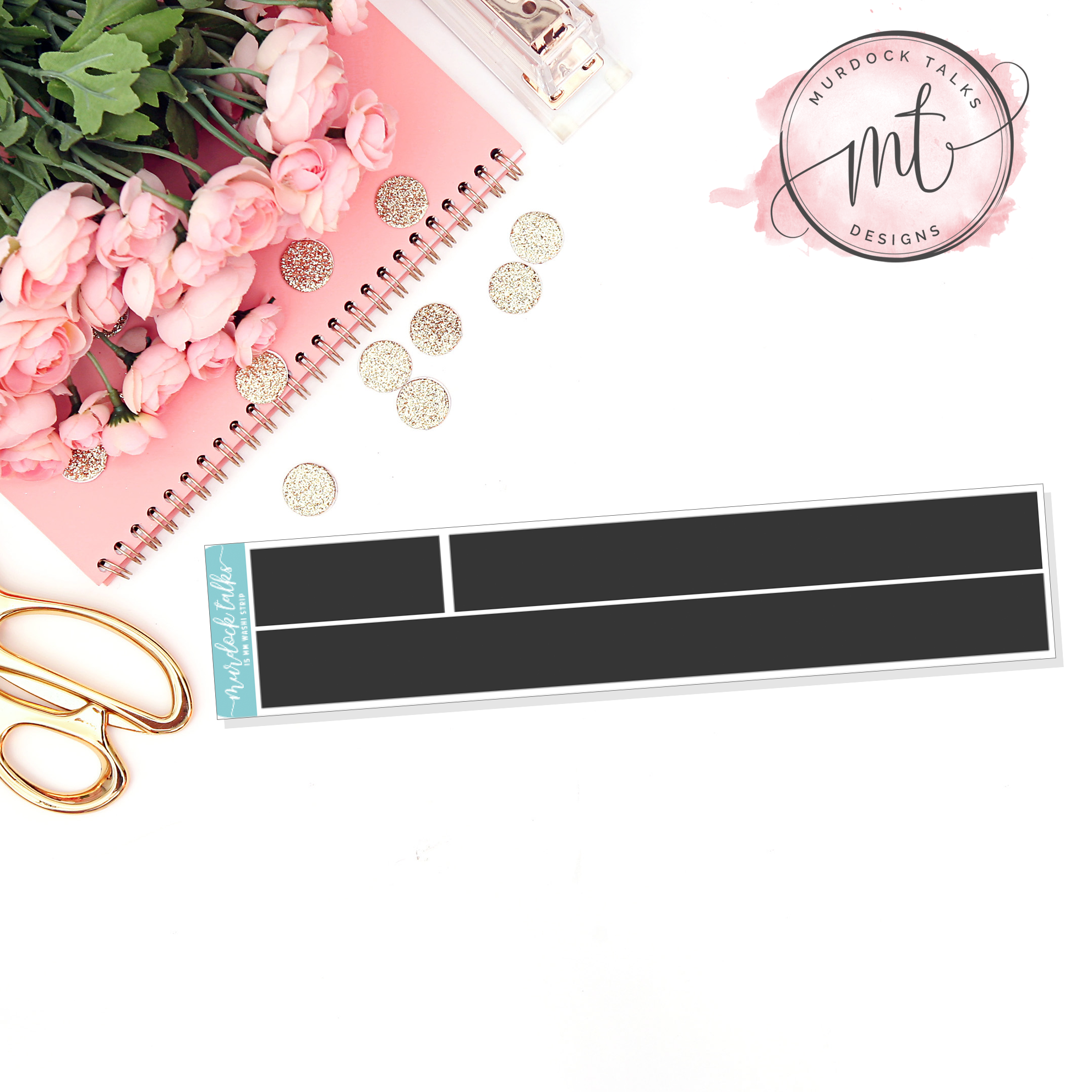 Stay Home 15mm Washi Strip