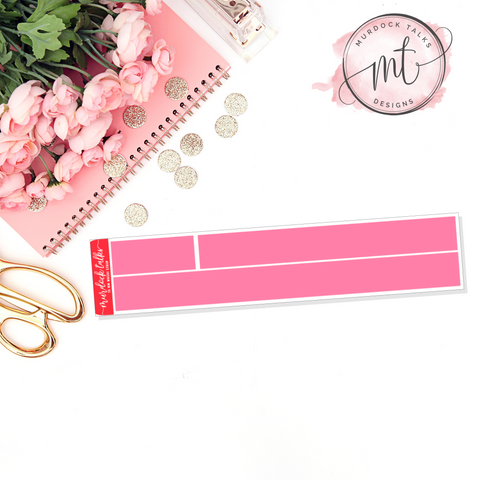 Lover 15mm Washi Strip