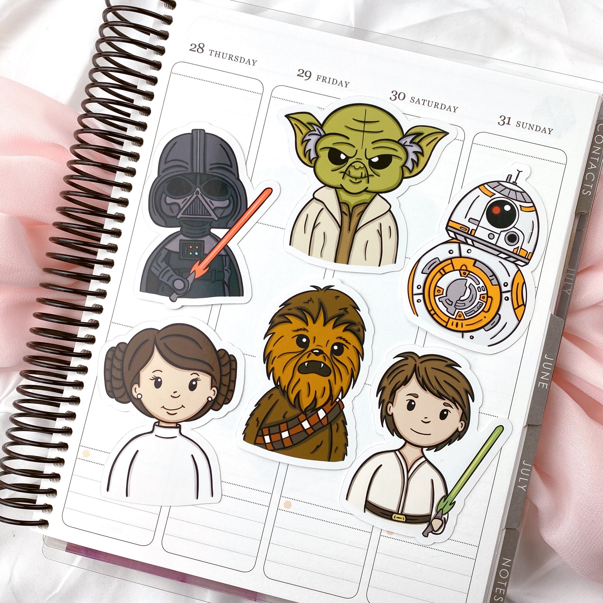 May the Fourth || Glossy Sticker Die Cut