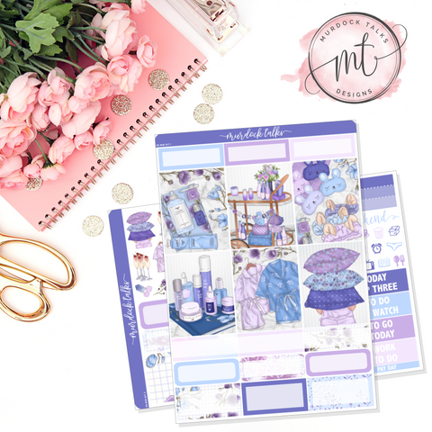 Lavender Dreams B6 WO2P Mini Kit