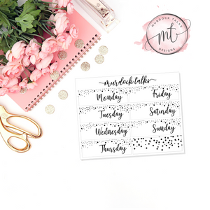 Date Cover || FOIL Overlay