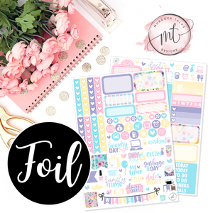 Easter GOLD FOIL Mini Kit || Vertical