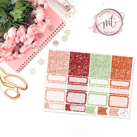 Gather Glitter Sampler