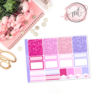 Mother's Day Glitter Header Add On