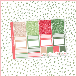 Crafty Christmas Glitter Header Add On