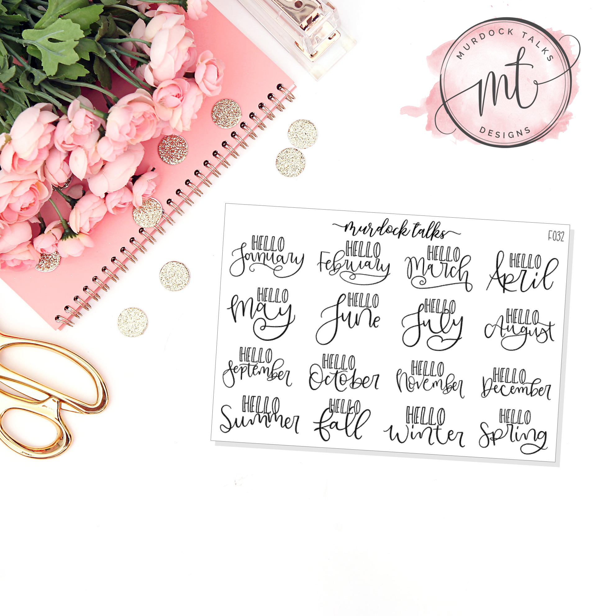 Hello Months/Seasons Script || FOIL