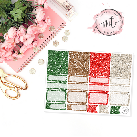 Holiday Cheer Glitter Sampler