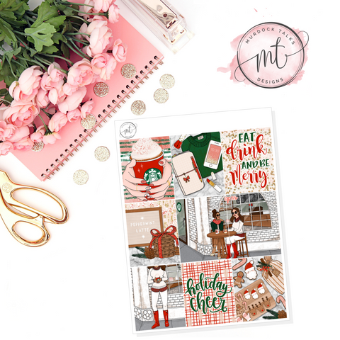 Holiday Cheer Full Boxes || Vertical