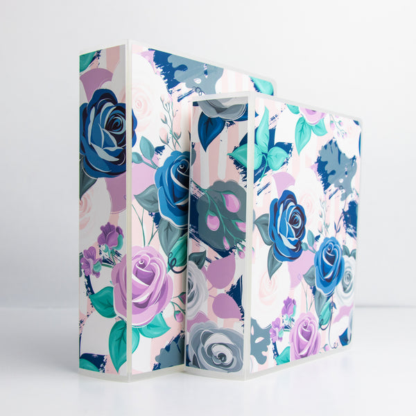 Floral Sticker Storage Album