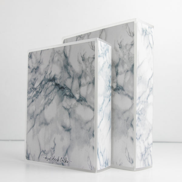 Marble Sticker Storage Album