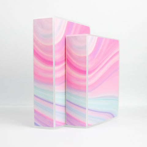 Pastel Swirl Sticker Storage Album