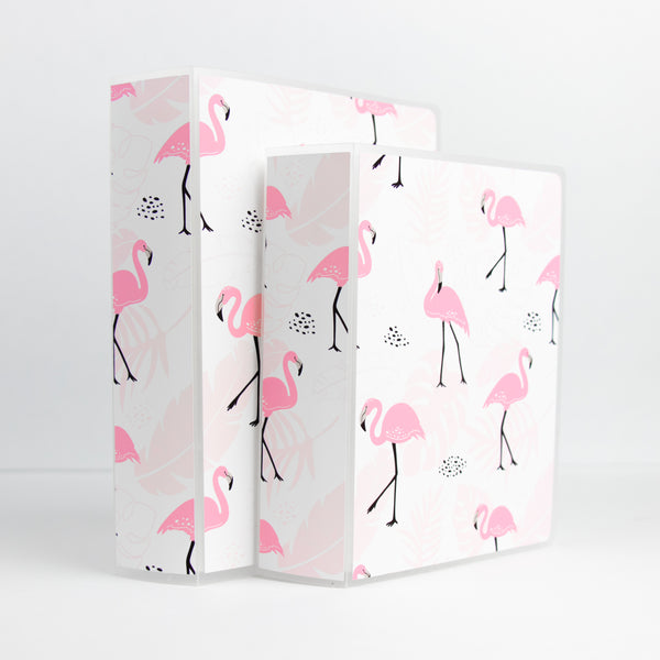 Flamingo Sticker Storage Album