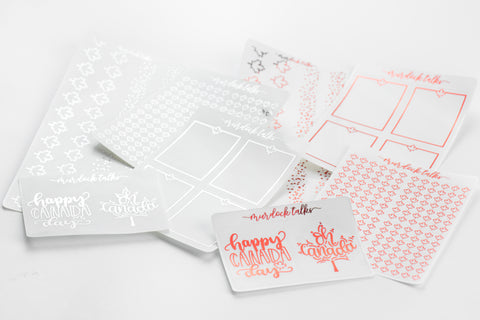 Canada Day Overlay Foil Bundle