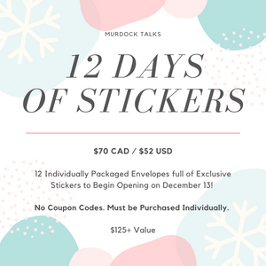 12 Days of Stickers || PRE-SALE