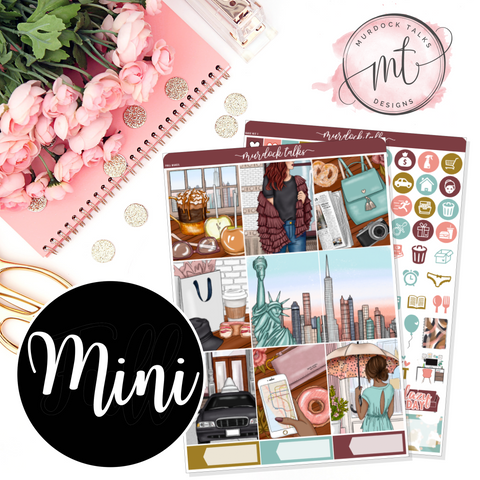 Fall in the City MINI Kit