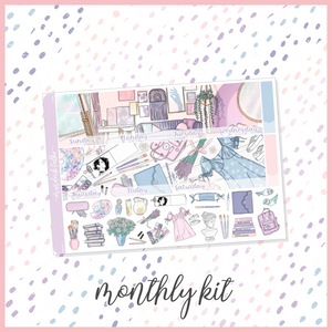 Dream || A5W Monthly Kit