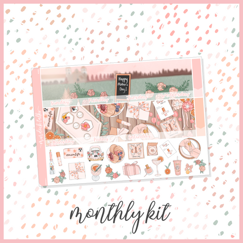 Momma || A5W Monthly Kit