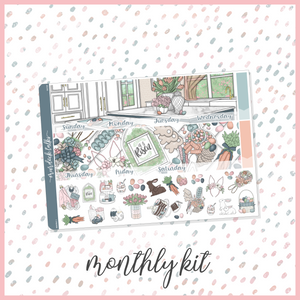 Easter || A5W Monthly Kit