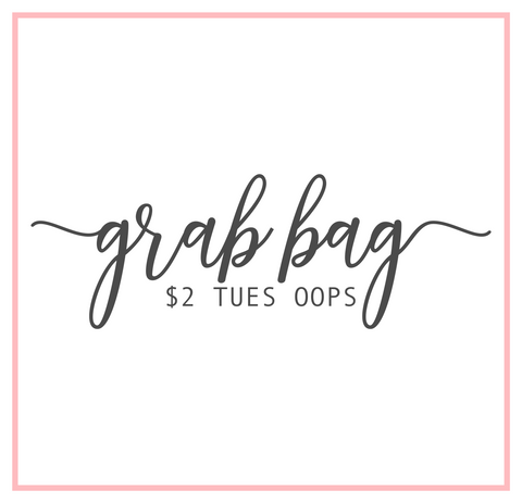 $2 Tuesday Oops Grab Bag || FOIL