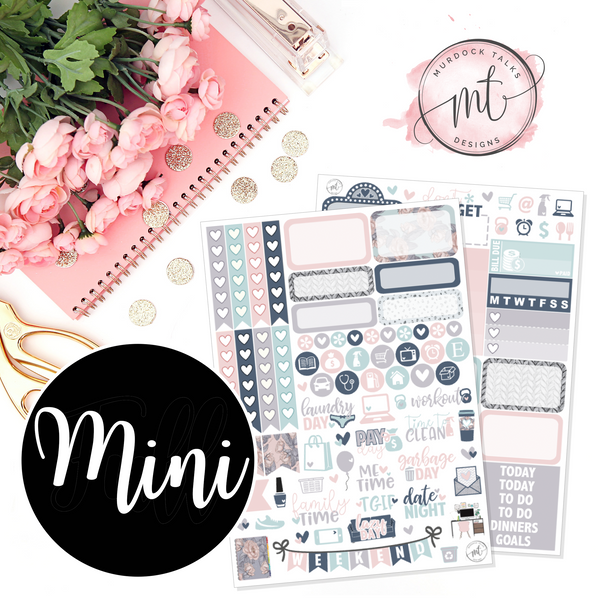 Planner Boss MINI Kit || Vertical