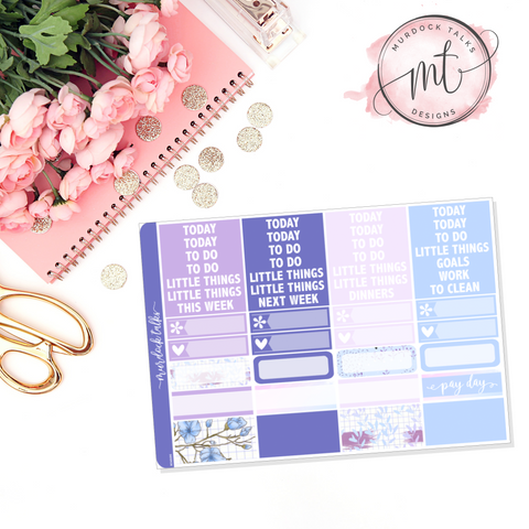 Lavender Dreams Header Add On