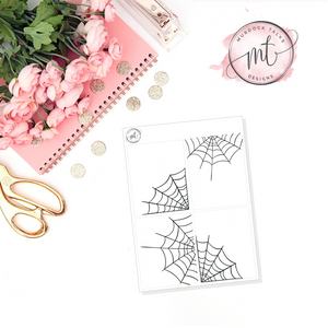 Spider Web FOIL || Full Box Overlay