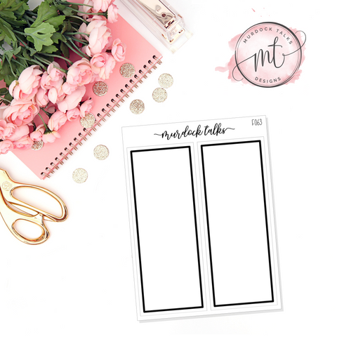 Square Tall Box Overlay || FOIL