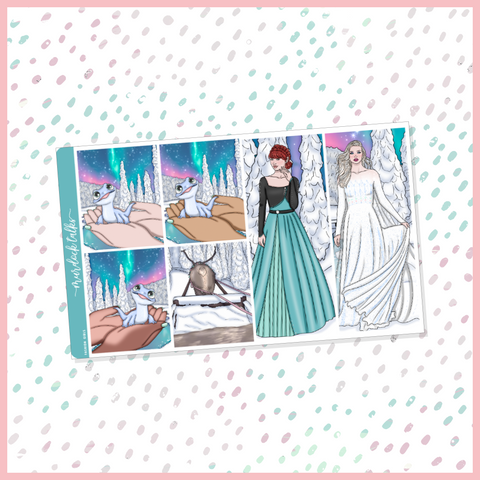 Frozen Tall Fashion Girls Add On
