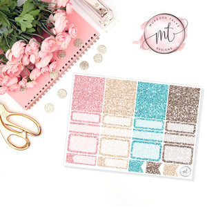 Warm & Cozy Glitter Sampler